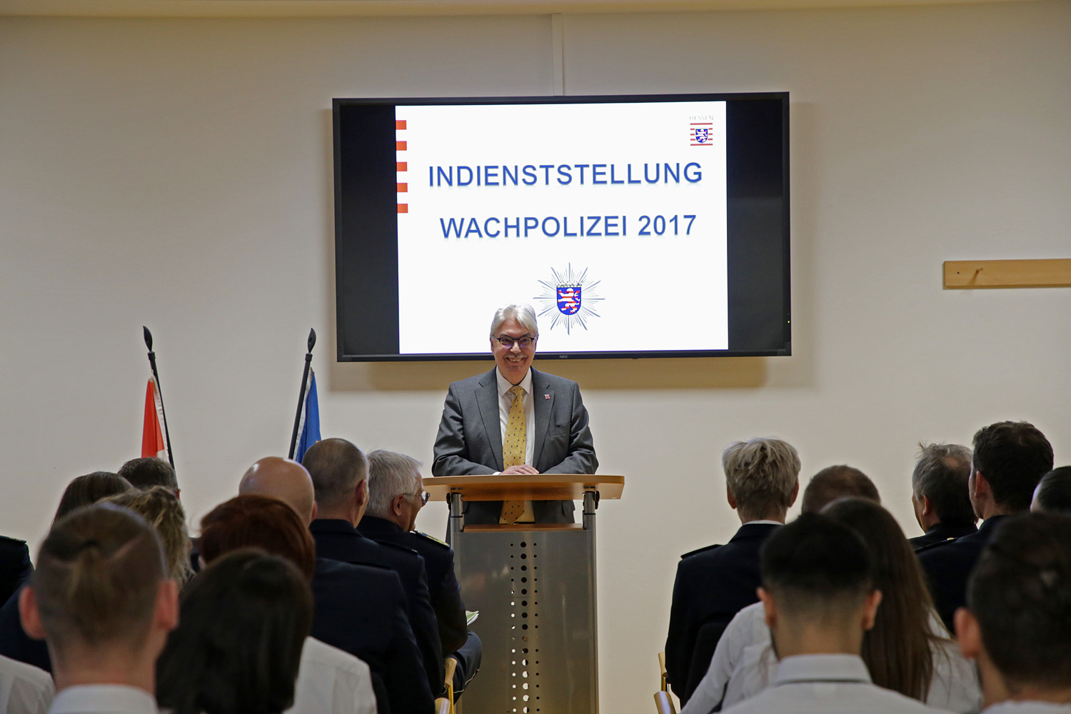 Indienststellung der Wachpolizei am 15.12.2017