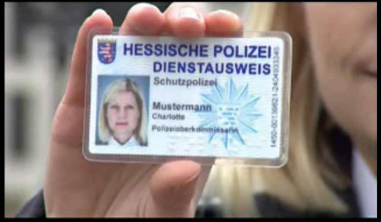 Polizei Hessen Dienstausweis