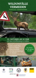 Flyer Landesjagdverband - Wildpräventionstag